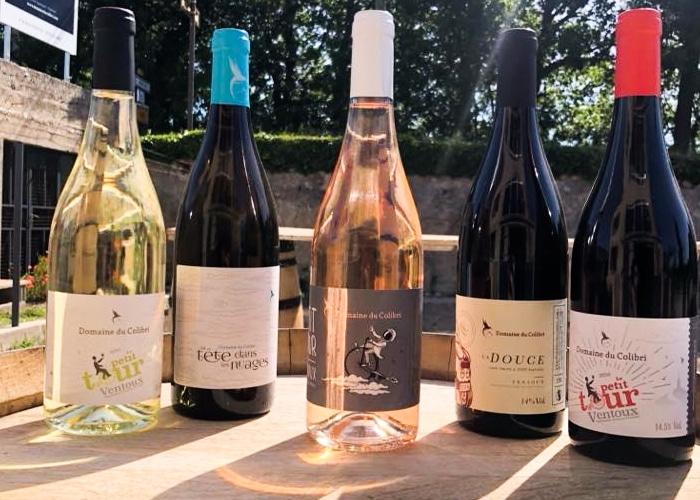 Domaine du Colibri, domaine viticole sur le Mont Ventoux près de Carpentras